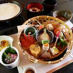 澤乃井ままごと屋 - ままごとコース   3,190円(税込)~ お料理の内容は季節により異なります。