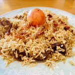 インディアン・レストラン ロタ - 料理写真:マトンビリヤニ トッピング:玉子