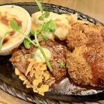 レストラン 大重亭 - 料理写真:Bセット