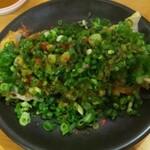 味噌と餃子 青源  - 青源 ネギ味噌餃子