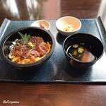 源喜屋 - 黒毛和牛サーロインのステーキ丼セット(After)