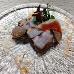 157665044 - 秋刀魚と里芋のテリーヌ