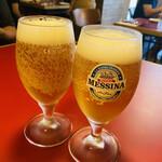 157669855 - 仕方なくオールフリーで乾杯✩。✧*。                       冷えてると美味しい♬