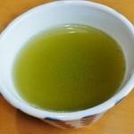 日本料理 いな穂 - 「日本茶」です(11/10UP)