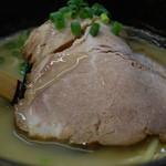 葵亭 - ラーメン650円の叉焼