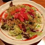 15767749 - ちりめんじゃこのサラダです。(¥ 950)
