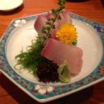 15767751 - 切り身も多くて美味しかった勘八のお造り(¥ 720)