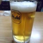 舎人亭 - 生ビール大