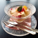 モリタ屋 - ☆8チーズ豆腐のフルーツポンチ