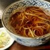 沢 - 料理写真:かけ蕎麦