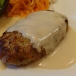 レストランMOMO - ハンバーグ