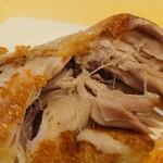 レストランMOMO - 鶏のコンフィ アップ
