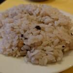 レストランMOMO - 雑穀入りライス
