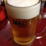 汀亭 - 生ビール