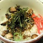 麺屋のばな - ネギチャーごはん(+100円)