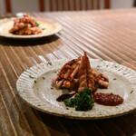 食幹 渋谷 - せせりの燻製