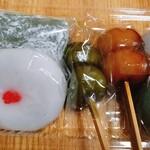 かぎや餅店 - 料理写真:団子 お餅 いろいろ