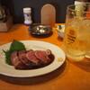 かっちゃんの大衆酒場ザスタンド - 料理写真:赤身ローストビーフ & 強炭酸メガ角ハイボール
