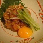1577680 - 鶏ユッケ