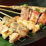 楽蔵 - 串焼き各種