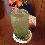 炭火煎珈琲のお店 こうひい庵 - ドリンク写真:お水のグラス