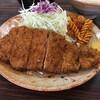 箱岩 - 料理写真:とんかつ定食 700円