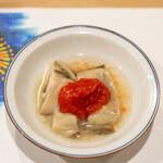 うを徳 - 2021.8 徳島岩牡蠣 フルーツトマト「アメーラ」ペースト