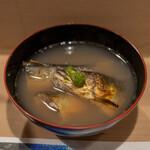 うを徳 - 2021.8 飛騨高山宮川天然鮎炭火焼き椀