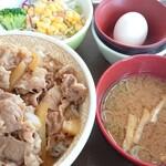 すき家 - 料理写真:牛丼ランチ