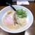 らあめん こそっと - 鶏白湯らあめん(醤油)750円+味玉(100円)