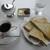リブ - 料理写真:トーストと珈琲