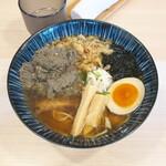 157717942 - 煮干し醬油らーめん880円+煮干し天かす30円