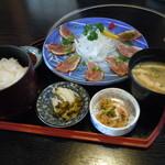 居食屋 とりせい - 地鶏たたき定食 980円