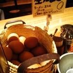 徳島ラーメン人生 - 生卵は入れ放題