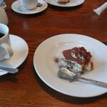 15772989 - 自家製ティラミスとコーヒー