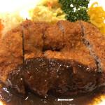 洋食 大かわ - メンチカツ 930円(税込)