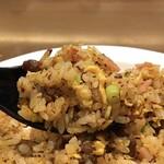 中国料理 シルクロード - ドラゴン炒飯のアップ