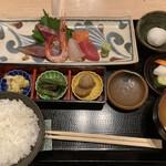 和ダイニング 天樹 - 鮮魚と旨味魚の刺身定食