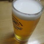 ちゃんこ大政  - 生ビール(キリン一番搾り)