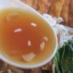 花キッチン - すっきり醤油スープ!(2012,11/04)