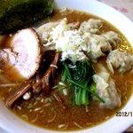花キッチン - みそワンタン麺!(2012,11/04)