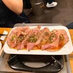 イベリコ豚おんどる焼 裏渋屋 - 炙りコンフィ