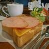 ドマーニ - 料理写真:ハムトーストセット(ドリンク・サラダ付)[¥840]
