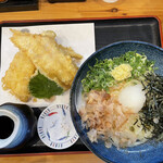 高浜や - 料理写真:穴子天ぶっかけうどん(冷) 950円