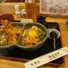 みなとや - 料理写真:アベック丼 (天丼、冷納豆)1,200円(税込)、大盛50円