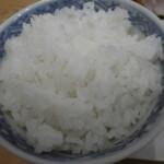 氏ノ木 - 炊き立てご飯も美味しい