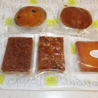 アンファン - 料理写真:焼き菓子5種
