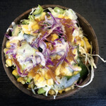 鶴商文庫 - セットのサラダ
