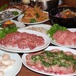 珍三カルビ - お得なコース料理