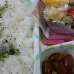 お米のふくや - 料理写真:幕の内弁当(白米)